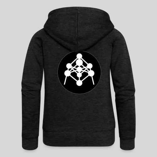 Atomium - Veste à capuche Premium Femme
