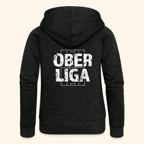 OBERLIGA im Fußballfeld - Frauen Premium Kapuzenjacke