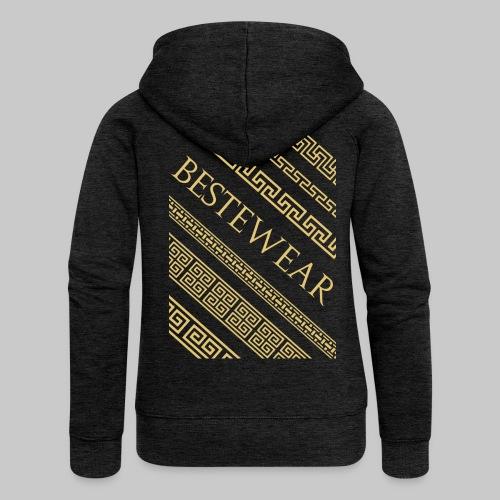 #Bestewear - Gold Chain´s - Frauen Premium Kapuzenjacke