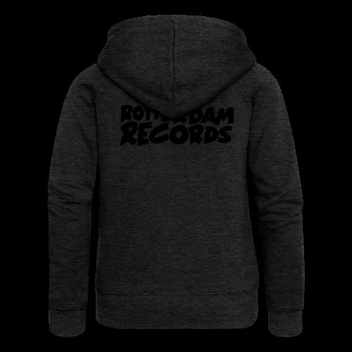 Rotterdam Records - Women's Premium Hooded Jacket