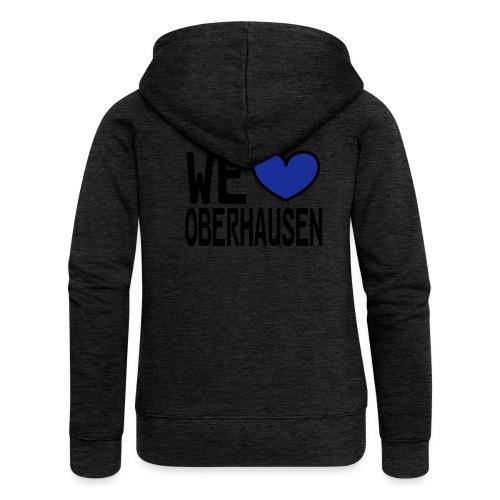 WE ♥ Oberhausen - Frauen Premium Kapuzenjacke