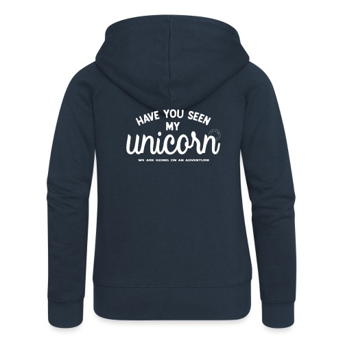 Unicorn dam - Women's Premium Hooded Jacket