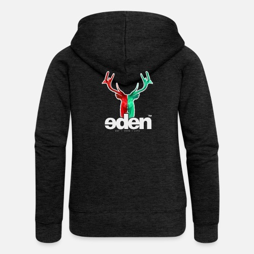 geweihbär EDEN - Frauen Premium Kapuzenjacke