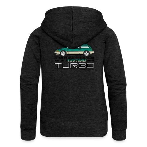 TTTurbo - Veste à capuche Premium Femme