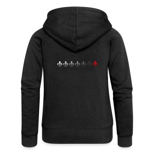 Loading Hearts - Pfadfinder Lilien - Frauen Premium Kapuzenjacke