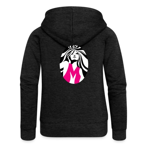 Mélody logo - Veste à capuche Premium Femme
