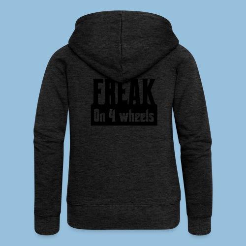 Freakon4wheels - Vrouwenjack met capuchon Premium