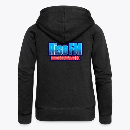 Rise FM Denmark Text Only Logo - Dame Premium hættejakke