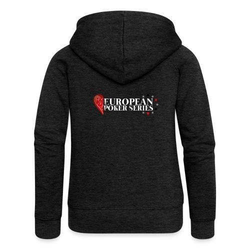 European Poker Series - Veste à capuche Premium Femme