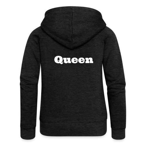 Snapback queen zwart/rood - Vrouwenjack met capuchon Premium