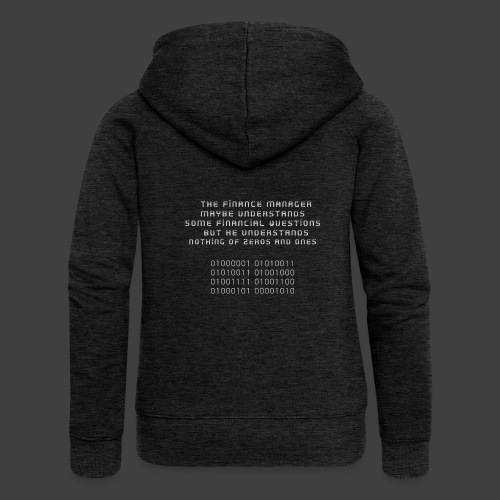 The Financial - Women's Premium Hooded Jacket