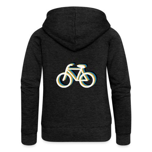 Bicycle Fahrrad - Frauen Premium Kapuzenjacke
