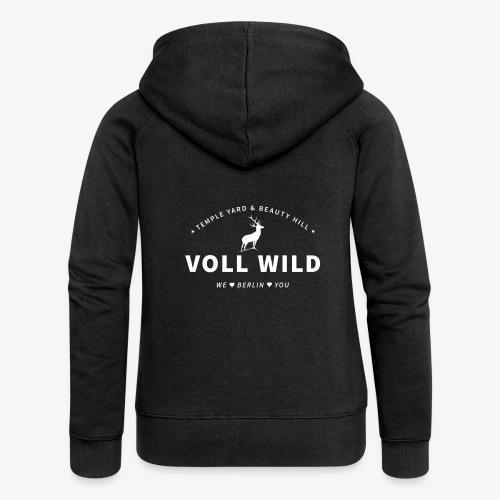 Voll wild // Temple Yard & Beauty Hill - Frauen Premium Kapuzenjacke