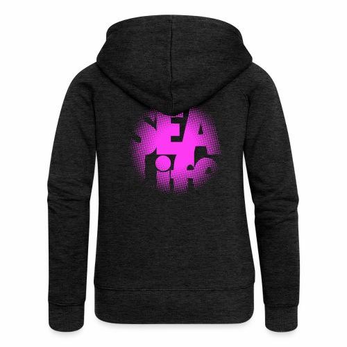 Sealife surfing tees, clothes and gifts FP24R01B - Naisten Girlie svetaritakki premium