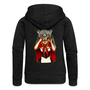 Little Red Riding Hood - Chaqueta con capucha premium mujer