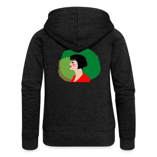 Amélie - Chaqueta con capucha premium mujer