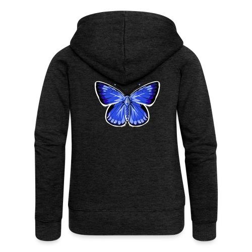vlinder2_d - Vrouwenjack met capuchon Premium