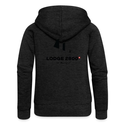 Lodge 2800 - Veste à capuche Premium Femme