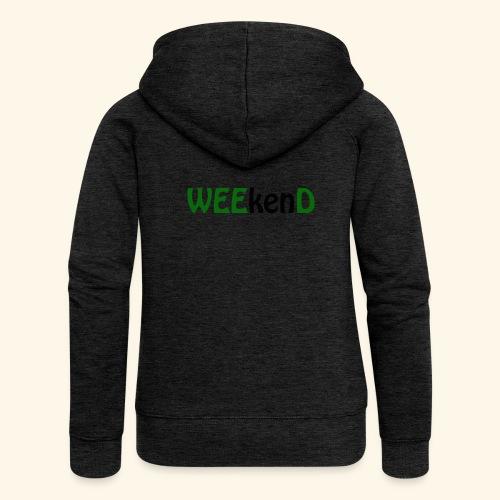 weed - Frauen Premium Kapuzenjacke