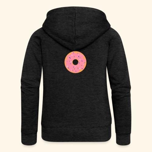 Donut-Shirt - Frauen Premium Kapuzenjacke