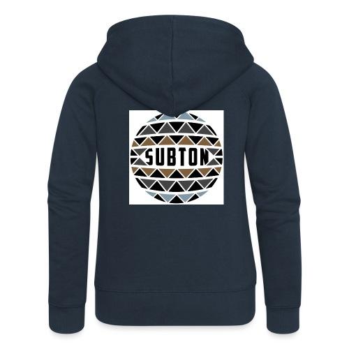 wereldbol_subton2-jpg - Women's Premium Hooded Jacket