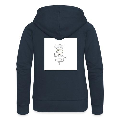 Maglietta 1 - Felpa con zip premium da donna