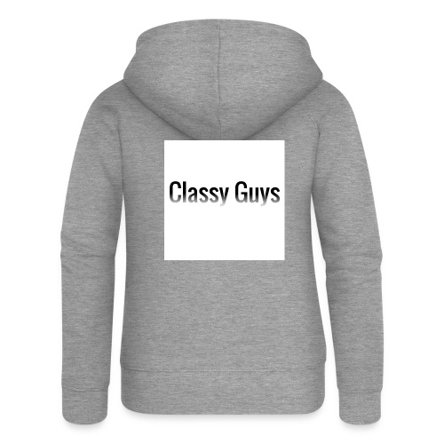 Classy Guys Simple Name - Women's Premium Hooded Jacket