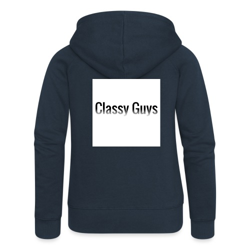 Classy Guys Simple Name - Women's Premium Hooded Jacket