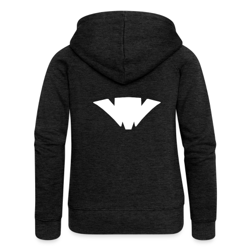 Unifont Logo - Women's Premium Hooded Jacket