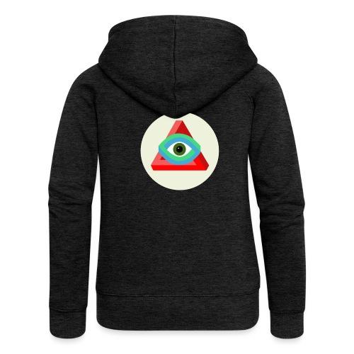The Penrose's Triangle - Veste à capuche Premium Femme