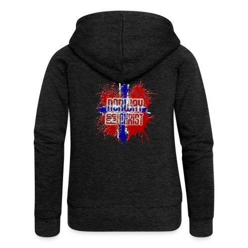 Norway for CHRIST - Women's Premium Hooded Jacket