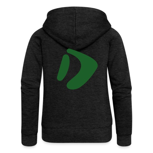 Logo D Green DomesSport - Frauen Premium Kapuzenjacke