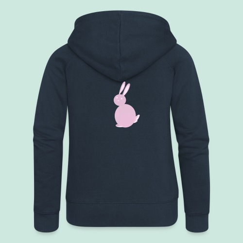 Pink Bunny - Women's Premium Hooded Jacket