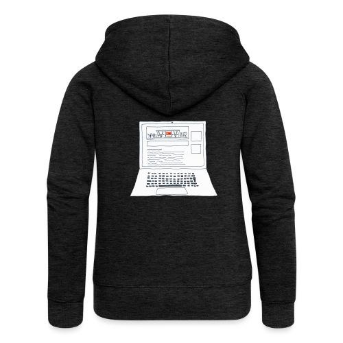 Laptop 20CENT Retail - Veste à capuche Premium Femme
