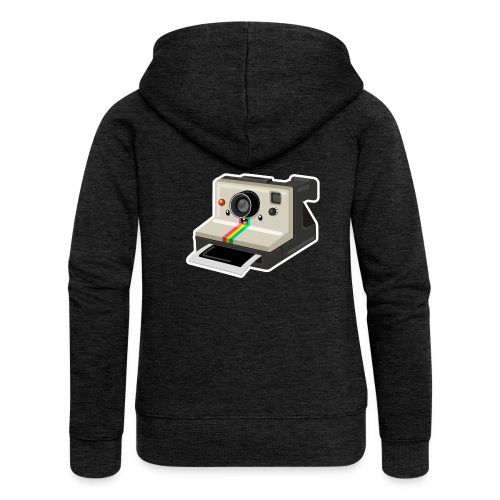 Polaroid 1000 kawaii - Veste à capuche Premium Femme