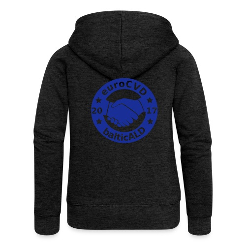 Joint EuroCVD - BalticALD conference mens t-shirt - Women's Premium Hooded Jacket
