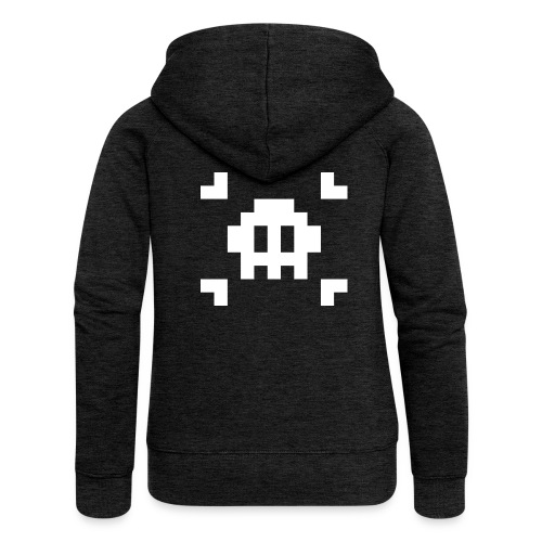 Mug Pixel Skull - Veste à capuche Premium Femme