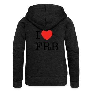 I Love FRB - Bestsellere - Dame Premium hættejakke