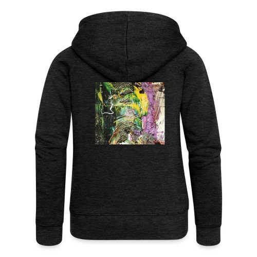 Abstract close up 2 - Women's Premium Hooded Jacket