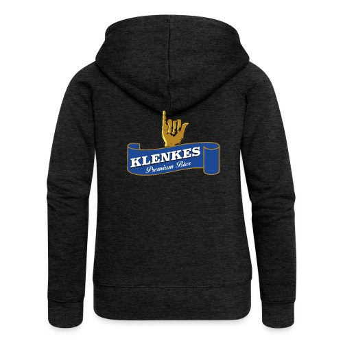 Klenkes Bier - Frauen Premium Kapuzenjacke