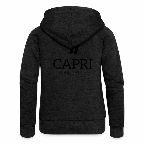 Capri ce n'est pas bien - Veste à capuche Premium Femme
