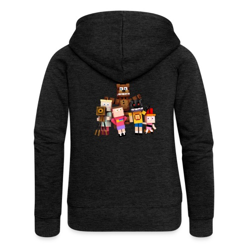 Withered Bonnie Productions - Meet The Gang - Women's Premium Hooded Jacket