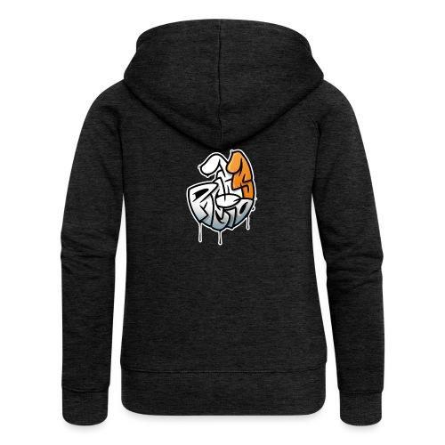 PRL DOG - Rozpinana bluza damska z kapturem Premium