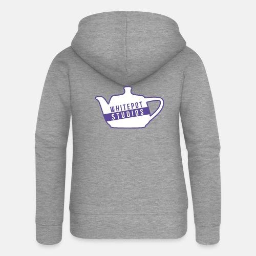 Whitepot Studios Logo - Women's Premium Hooded Jacket