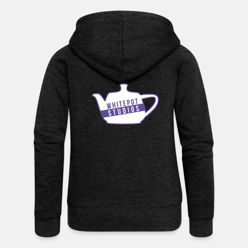 Whitepot Studios Logo - Women's Premium Hooded Jacket