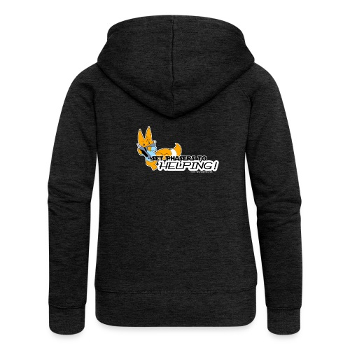 Set Phasers to Helping - Women's Premium Hooded Jacket
