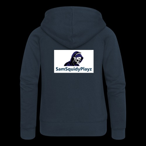SamSquidyplayz skeleton - Women's Premium Hooded Jacket