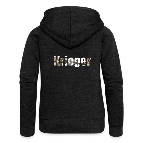 krieger - Frauen Premium Kapuzenjacke