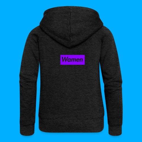 Wamen T-Shirt Design - Women's Premium Hooded Jacket