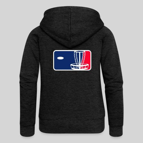 Major League Frisbeegolf - Naisten Girlie svetaritakki premium